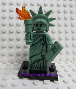 Lego Statue de la liberté minifigur Série 6 statue of liberty