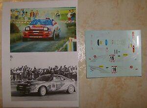 TOYOTA-CELICA-4WD-24-ORE-YPRES-RALLY-1992-RENAUD-VERREYDT-DECALS-TROFEU