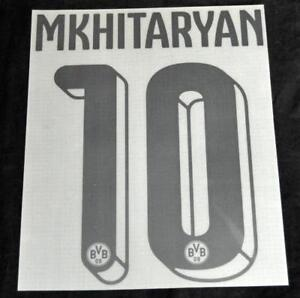 Borussia-Dortmund-Mkhitaryan-10-2015-16-Home-Football-Shirt-Name-Number-Set