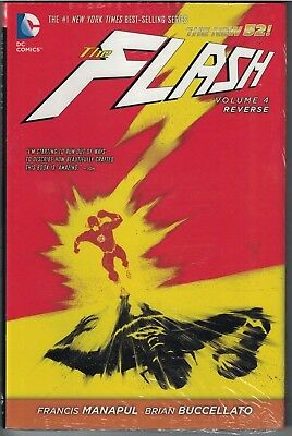 FLASH Vol 4 Reverse HC Hardcover $24.99srp Francis Manapul  #20-25 New 52 SEALED