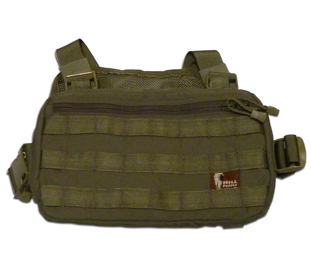 Hill People Gear Recon Kit Bag Ranger Green Concealed Carry SAR Survival Kit