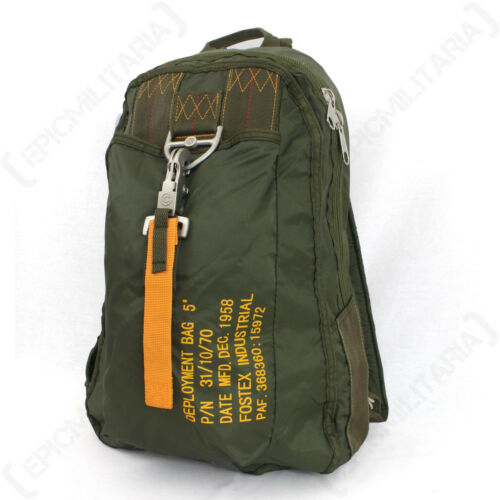Army Air Usaf Para Paratrooper Backpack à Green dos Olive Nouveau Force Sac Army qwAaz04x8n