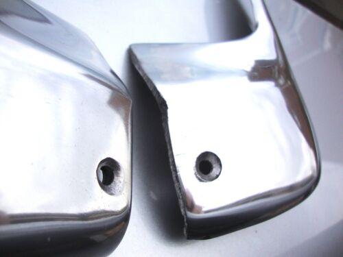 ANTERIORE CITROEN 2CV Robri stile Ghiaia Guards Lucidato Finitura in Alluminio VAC044