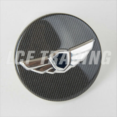17/'s only // R-spec Sedan Wing Center Cap Set of 4 Genuine Hyundai Genesis Coupe