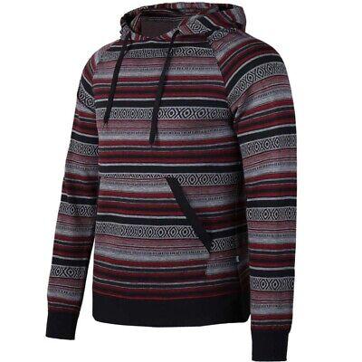 Men/'s Casual Roomy Pullover Hoodie Hooded Sweatshirt Coat Jacket US Flag