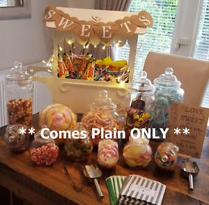 Y34 Wedding Day XL SWEET CANDY CART Trolley Holder Place Table Display Stand