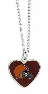 CLEVELAND-BROWNS-18-034-HEART-NECKLACE