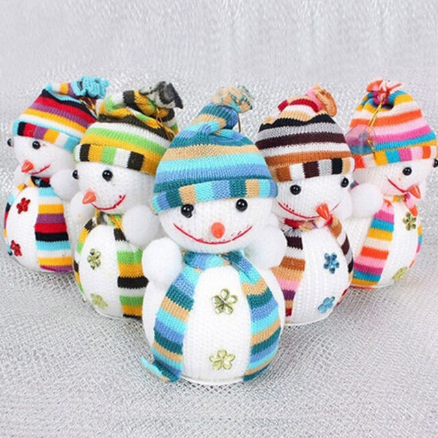 Christmas Cute Snowman Doll Ornaments Festival Party Tree Hanging Decoration Hot
