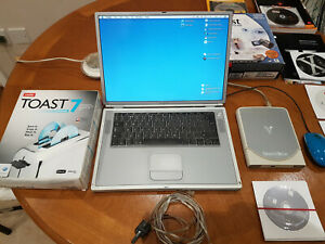 MAC-G4-Laptop-VGC-Smart-Disk-with-Software