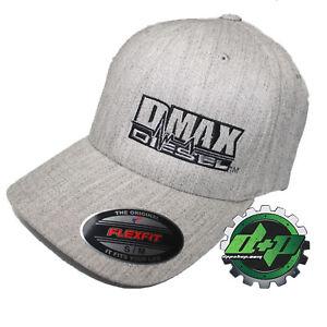 Dmax-truck-diesel-Duramax-flexfit-hat-ball-cap-fitted-flex-fit-s-m-heather