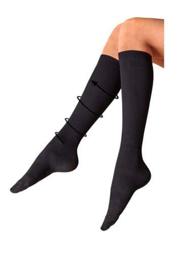 Jolies jambes côtelé compression sock
