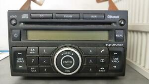 NISSAN-PATHFINDER-STEREO-RADIO-HEAD-UNIT-CD-STACKER-R51-6DISC-DASH-06-10-09-13
