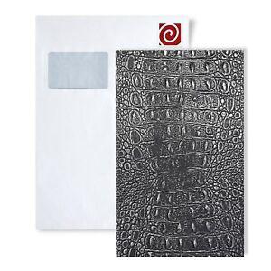 1 Modèle Pièce Wallface S-13521-sa Din A4 | Wandpaneel Motif Croco Smoke Met-afficher Le Titre D'origine
