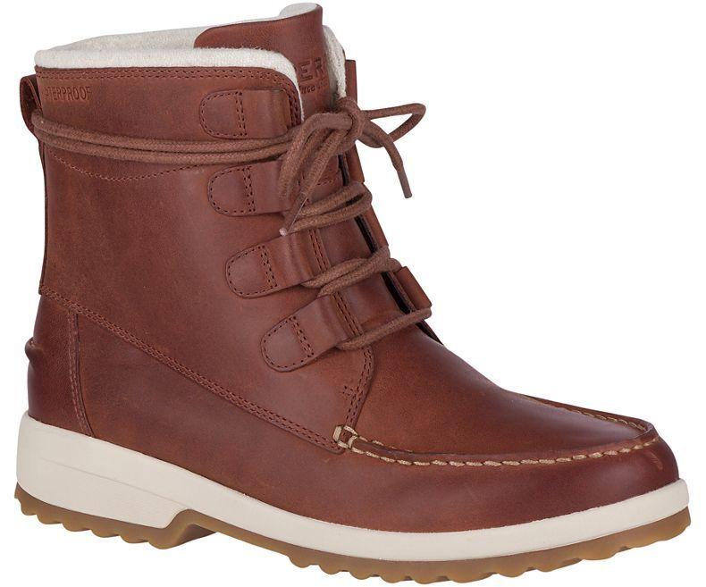 comprare a buon mercato Sperry Donna Donna Donna  Maritime Cruz Ankle avvio Rust Waterproof Leather Pick A Dimensione  promozioni di sconto