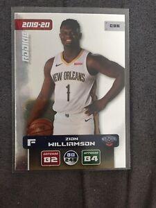 Panini Adrenalyn XL NBA 2019-20 ZION WILLIAMSON ROOKIE CARD NEUF
