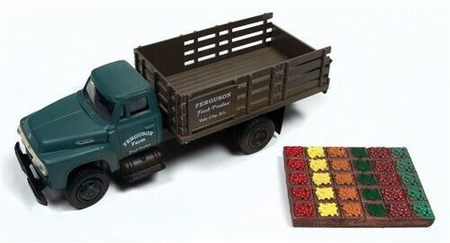 Classic Metal Works 40000 1:87 Ferguson Farm 1954 Ford Truck with Crates
