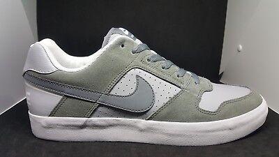Dissipare marketing metodologia  Men's Nike SB Delta Force Vulc 942237 001 Cool Grey Skateboard Shoes Size  10   eBay