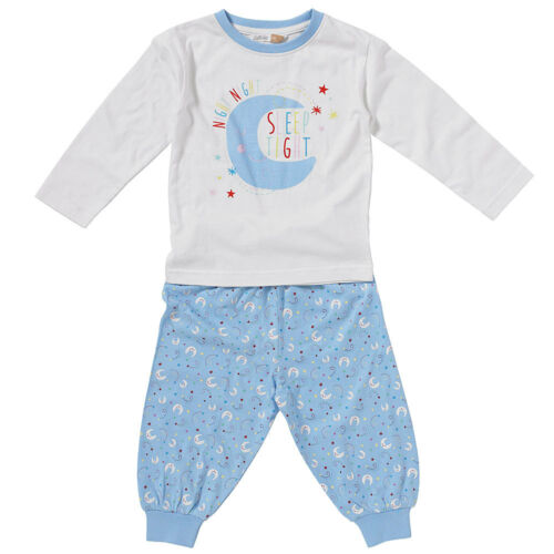 Berceuse Bébé Filles Coton Pyjamas Mignon nuit night Sleep Tight Moon Stars