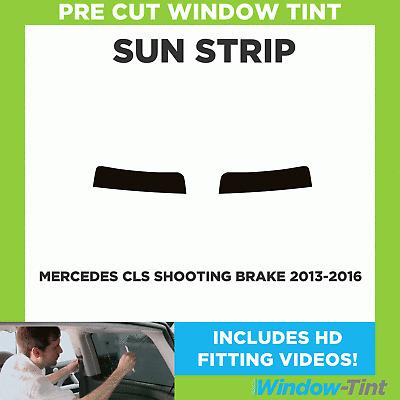 Pre cut window tint 2012 to 2016 Mercedes CLS 4-door Saloon Rear windows 20/% Dark Smoke