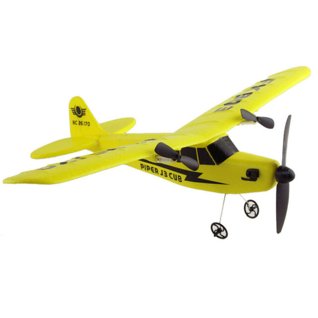 2CH 2 4G RC Helicopter Remote Control Plane Glider Airplane Durable EPP  Foam Toy
