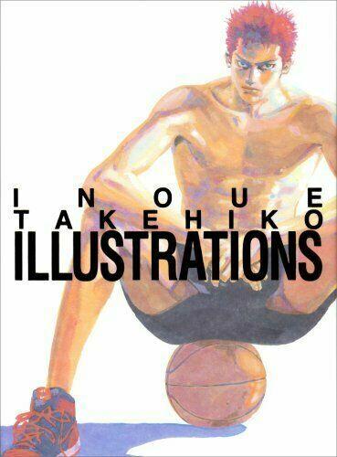 3-7 DaysSlam DunkInoue Takehiko Illustrations Hardcover Art Book from JP