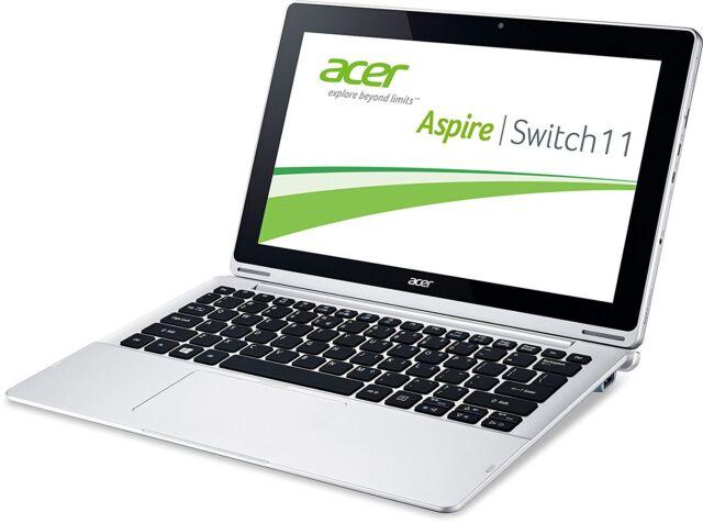 "Acer Aspire Switch 11 HD 11,6"" IPS Tablet Win 10 Intel Quad Core 32GB 2GB HDMI"