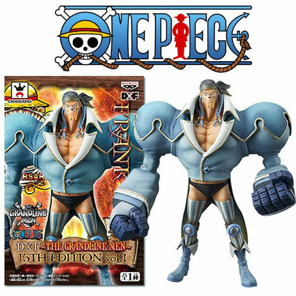 FIGURE ONE PIECE FRANKY DXF THE GRANDLINE MEN 15th EDITION VOL.1 ANIME MANGA