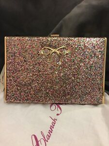 Glitter Hear Nwt Thoughts Alannah Hill Multicolore Clutch My qCpgPxYZ
