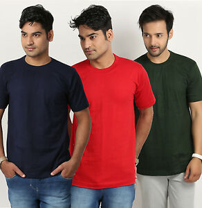Round Neck T-shirts Pack of 3