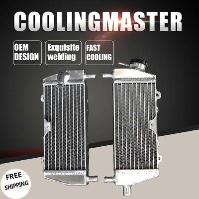Par de radiadores para Kawasaki 125//250 KX 94//02 STD