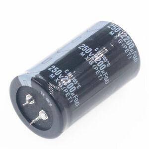 22uF-33uF-100uF-150uF-220uF-330uF-470uF-2200uF-MFD-250V-Electrolytic-Capacitor