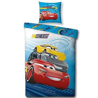 Möbel & Wohnen Disney Cars 3 Bettwäsche Für Kinder/jungen 2 Tlg 80x80 135x200 Cm 100% Baumwolle Bettwäsche