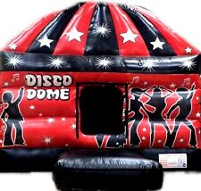 Andy J Leisure 12ft x 17ft Disco Dome Bouncy Castle