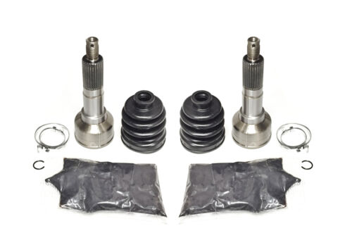 Pair of Front Axle Outer CV Joint Kits for Yamaha Grizzly 600 4x4 1998 ATV