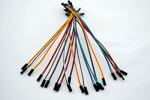 20pcs-2pin-20cm-2-54mm-Female-to-Female-jumper-wire-Dupont-cable-for-Arduino