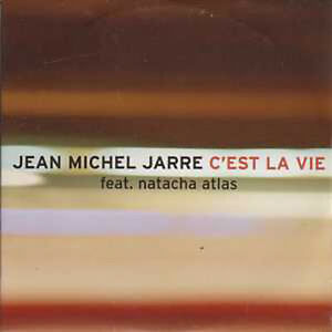 CD-SINGLE-Jean-Michel-JARRE-amp-Natacha-ATLAS-PROMO-C-039-est-la-vie