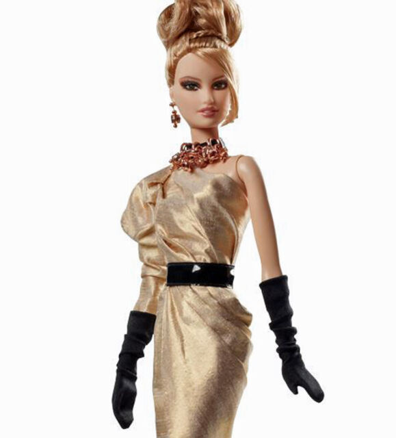 2012 PLATINUM LABEL*RUSH OF ROSE GOLD BARBIE*BFC*NEW IN SHIPPER BOX *999 MADE*