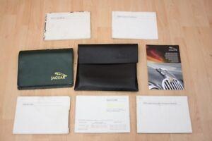 DRIVERS HANDBOOK SET / OWNERS MANUAL PACK - Jaguar XJ8 XJR X308 2000-2002 #5081
