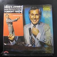 Johnny Carson - Here's Johnny… 2 LP New Sealed SPNB 1296 w/Poster Vinyl Record