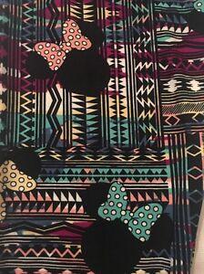 c74a232522f85a NWT LuLaRoe Disney OS Minnie Mouse Multicolor Aztec Leggings MAJOR ...