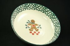 Tienshan Folkcraft Gingerbread Large Serving Vegetable Pasta Bowl 9""