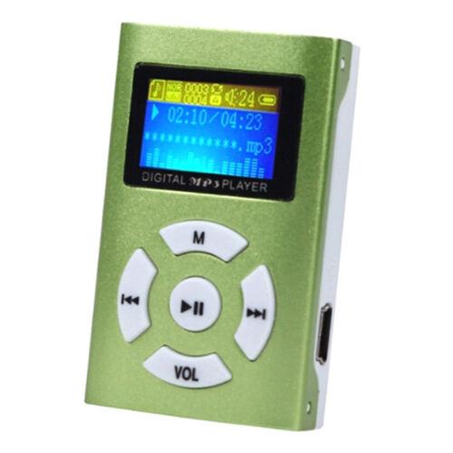 Portable mini usb digital mp3 player lcd screen support 32gb micro sd tf Card