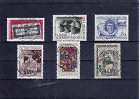 A_669 Einzelmarken 1657-1661, 1663 ʘ aus 1980 - verschiedene Ansichten