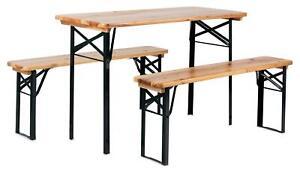 Tavoli E Panche Da Birreria.Set Birreria Tavolo E Panche Richiudibile Da Giardino Balcone In