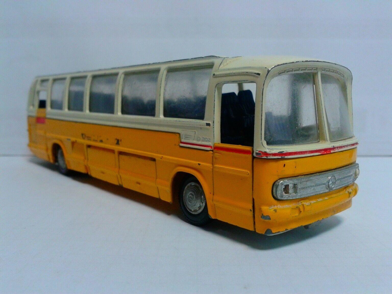 Vintage Tekno Holland 950 mercedes benz o302 1 50 1971-72 PTT