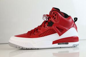 san francisco 67f2a 2df55 Image is loading Nike-Air-Jordan-Spizike-Gym-Red-White-Wolf-
