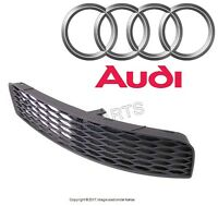 2002 2003 2004 2005 2006 Audi Tt Bumper Cover Grille Right Front Genuine on sale