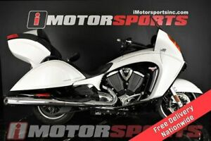 2014 Victory Motorcycles Vision Tour White Metallic