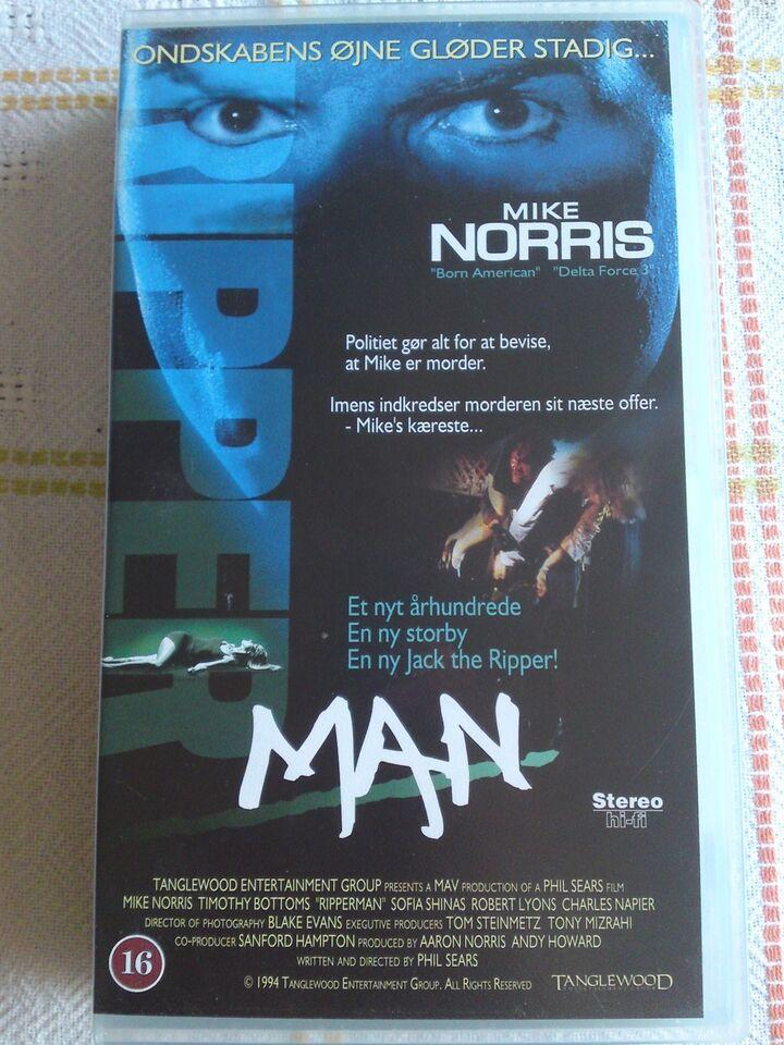 Thriller, Ripper man, instruktør Aaron Norris