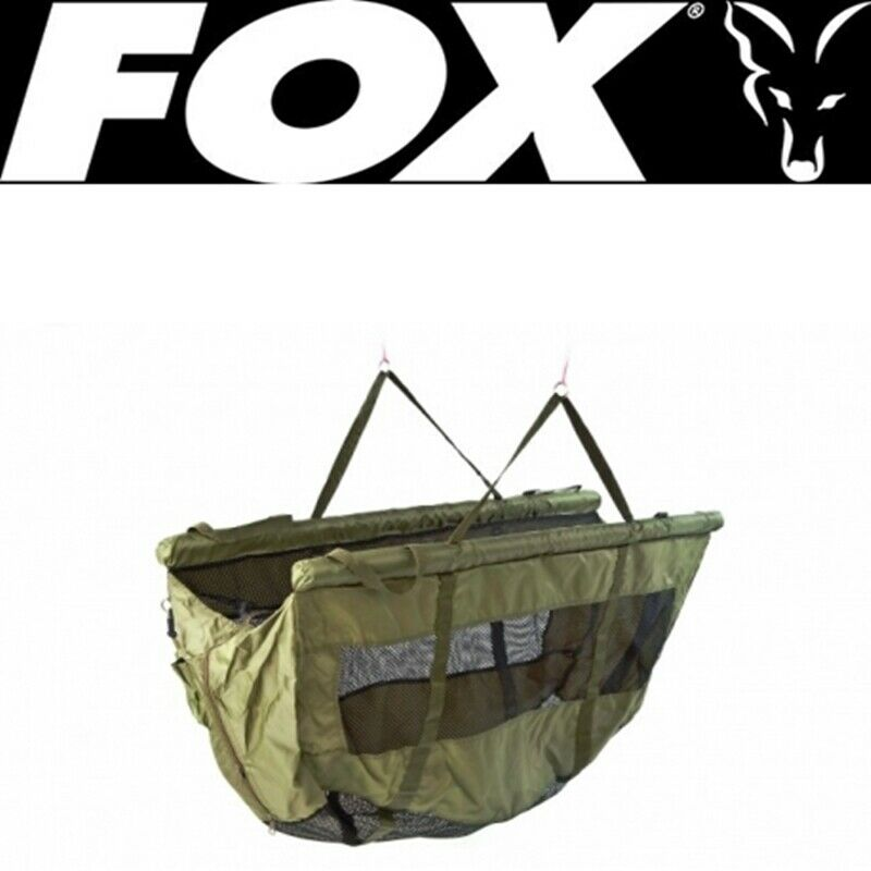 CCC026 FOX STR Safety Weigh Sling SACCA MANTENIMENTO CON MANICI  CARP FISHING